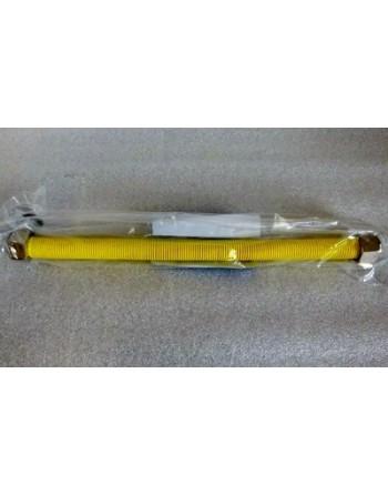 Inox gázcső, flexibilis, kihúzható,  30-60 cm