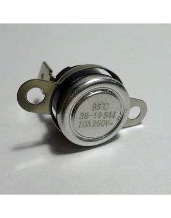 Biztonsági termosztát,  95 C, (Tepcon, fekete)
